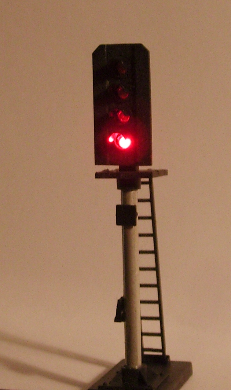 Southern railway and british railways multi lamp colour light signal